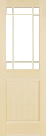 木製室内ドア -クリアパインドア-/アートガラス PM-9SL22