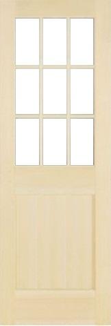 木製室内ドア -クリアパインドア-/アートガラス PM-9L22