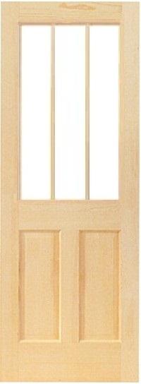 木製室内ドア -クリアパインドア-/アートガラスHS-3L44