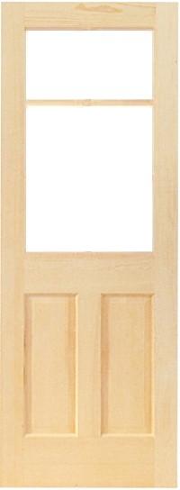 木製室内ドア -クリアパインドア-/アートガラス PD-2L66
