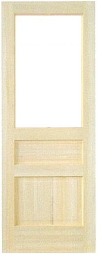 木製室内ドア -クリアパインドア-/アートガラス PD-1M33