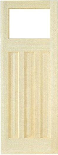 開き戸セット(ドア、枠)木製室内ドア -開き戸セット クリアパインドア-/アートガラ sw-pd-1m55