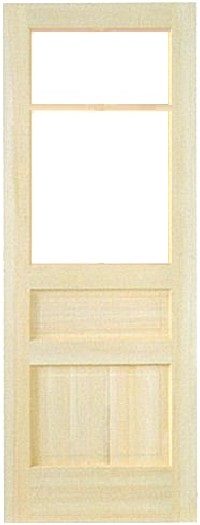木製室内ドア -クリアパインドア-/アートガラス PD-2M33
