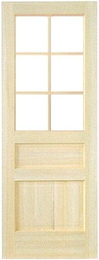 木製室内ドア -クリアパインドア-/アートガラス PD-6M33