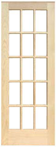 木製室内ドア -クリアパインドア(節無し)- PD-1515