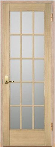 木製室内ドア 開き戸枠セット-アッシュ- SW-AM-1515