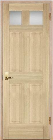 木製室内ドア 開き戸枠セット-アッシュ- SW-AD-266