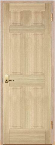 木製室内ドア 開き戸枠セット-アッシュ- SW-AD-66