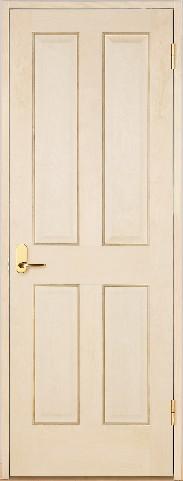 木製室内ドア 開き戸枠セット-バーチ- SW-BD-44