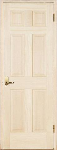 木製室内ドア 開き戸枠セット-バーチ- SW-BD-66
