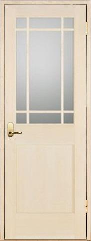 木製室内ドア 開き戸枠セット-バーチ-/ガラスタイプ SW-BM-9SL22