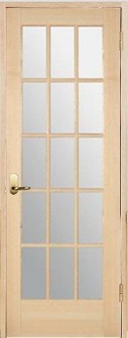 木製室内ドア 開き戸枠セット-ヘムロック- SW-HM-1515