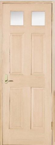 木製室内ドア 開き戸枠セット-ヘムロック- SW-HD-266