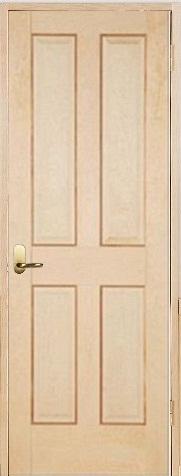 木製室内ドア 開き戸枠セット-ヘムロック- SW-HD-44