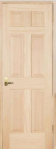 木製室内ドア 開き戸枠セット-ヘムロック- SW-HD-66