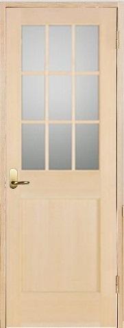 お買い得セット(ドア、枠、金物セット)木製室内ドア 開き戸枠セット-ヘムロック- SW-HM-9L22