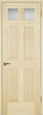木製室内ドア開き戸枠セット-パインドア- SW-PD-266