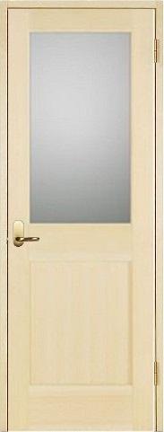 お買い得セット(ドア、枠、金物セット)木製室内ドア 開き戸セット-パインドア-/ガラスタイプ SW-PM-1L22