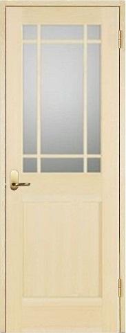 お買い得セット(ドア、枠、金物セット)木製室内ドア 開き戸枠セット-パインドア- SW-PM-9SL22