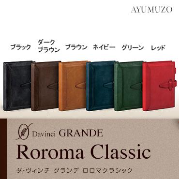レイメイ藤井 ダ・ヴィンチ グランデ/ロロマクラシック 聖書サイズシステム手帳 リング24mm DB3014