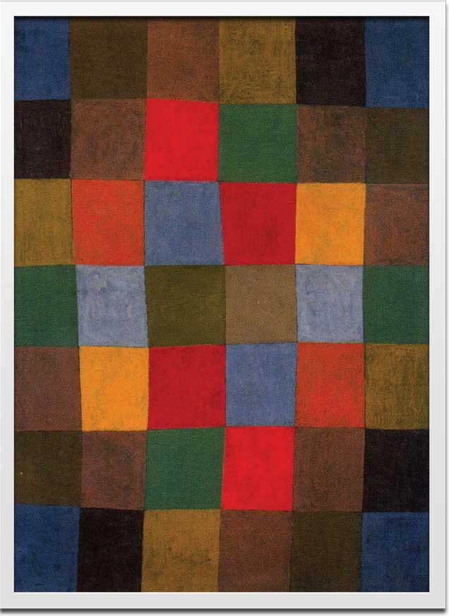 アートフレーム Bauhaus New Harmony,1936(バウハウス ニューハーモニー)/インテリア 壁掛け 額入り 額装込 風景画 油絵 ポスター アート アートパネル リビング 玄関 プレゼント モダン アートフレーム おしゃれ 飾る 3Lサイズ