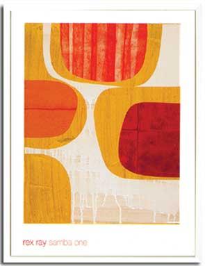 アートフレーム Ray,R Samba One(レックス・レイ サンバ ワン)/インテリア 壁掛け 額入り 額装込 風景画 油絵 ポスター アート アートパネル リビング 玄関 プレゼント モダン アートフレーム おしゃれ 飾る 3Lサイズ