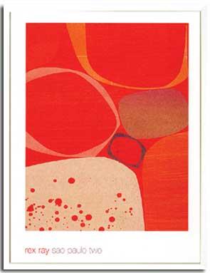 アートフレーム Ray,R Sao Paulo Two(レックス・レイ サンパウロ ツー)/インテリア 壁掛け 額入り 額装込 風景画 油絵 ポスター アート アートパネル リビング 玄関 プレゼント モダン アートフレーム おしゃれ 飾るL