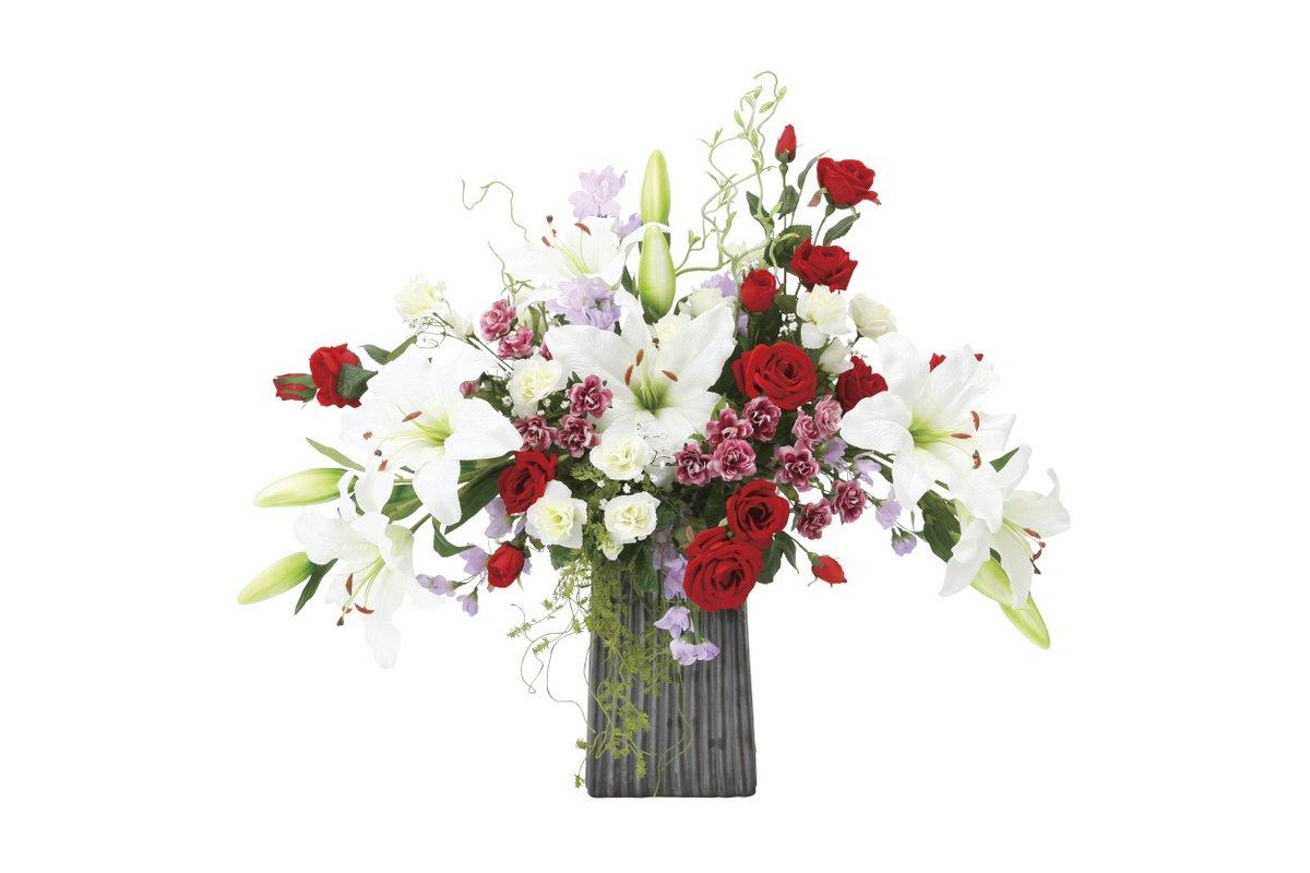アートフラワー 造花 レッドエレガンス〔テーブルタイプ〕/光触媒 観葉植物 ウンベラータ フェイクグリーン 花 胡蝶蘭 開店祝い 開業祝い 誕生祝い 造花 アートフレーム おしゃれ 飾る 5Lサイズ 巣ごもり