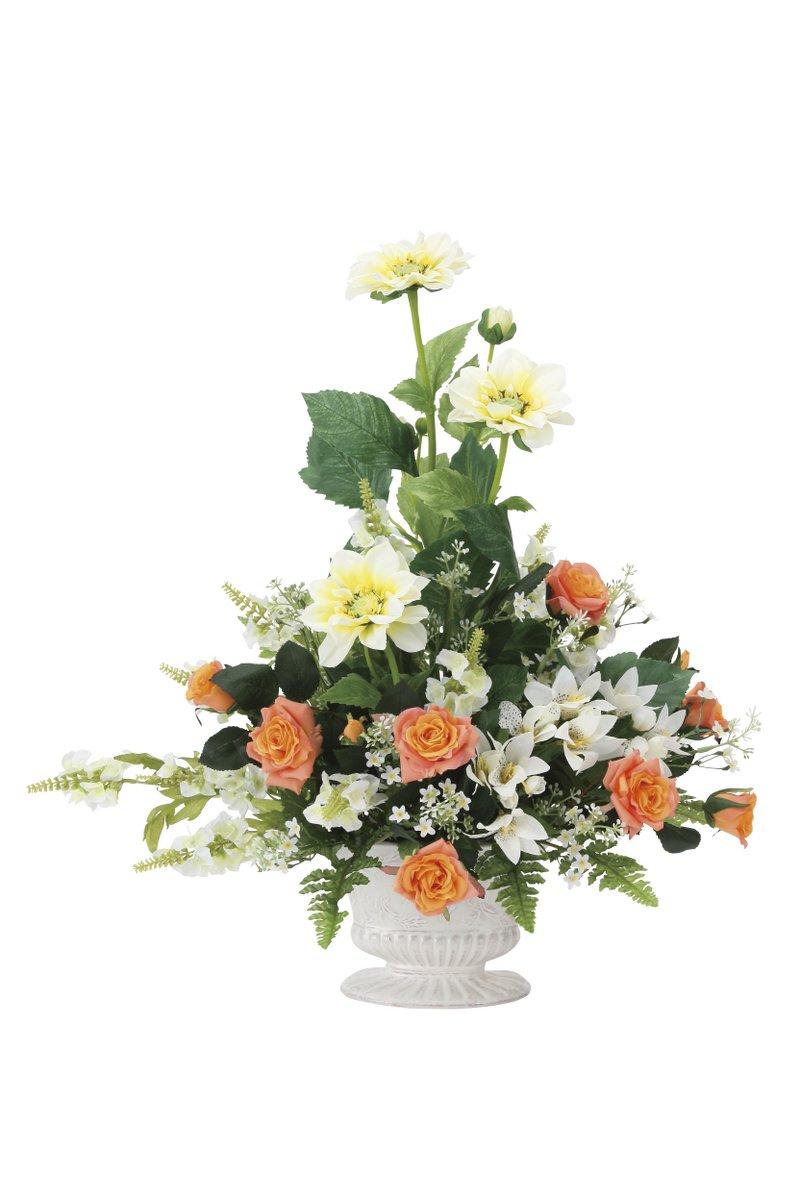 アートフラワー 造花 シュナーベル〔テーブルタイプ〕/光触媒 観葉植物 ウンベラータ フェイクグリーン 花 胡蝶蘭 開店祝い 開業祝い 誕生祝い 造花 アートフレーム おしゃれ 飾る 3Lサイズ 巣ごもり