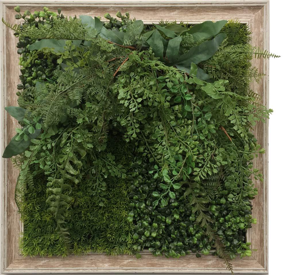【グリーンフレーム】芝生 2/インテリア 壁掛け 額入り リビング 玄関 プレゼント ギフト 光触媒 消臭 おしゃれ 飾る フェイクグリーン 3Lサイズ