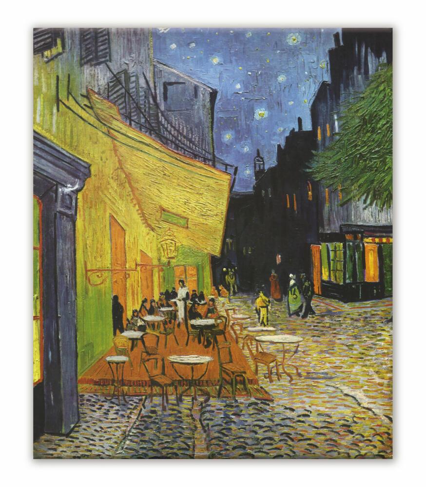 耐候性塗料 夜のカフェテラス ゴッホ K Goh 007sgc1 壁紙ポスター