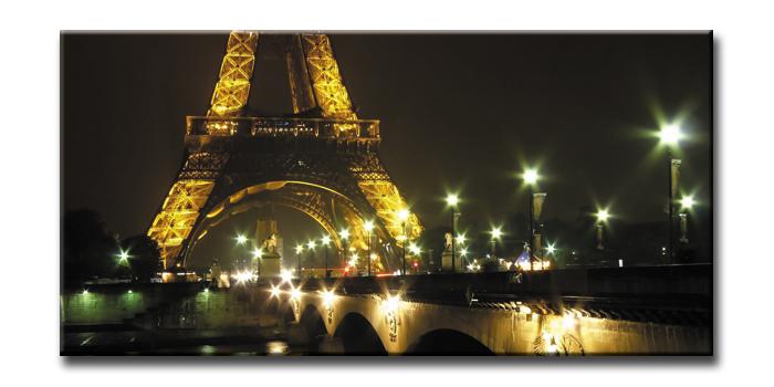キャンバスアート アーバンスタイルL パリ エッフェル塔(URBAN STYLE L CANVAS ART Paris Eiffel Tower)/額入り 絵画 絵 壁掛け アート リビング 玄関 トイレ インテリア かわいい 壁飾り 癒やし プレゼント ギフト アートパネル ポスター アートフレーム おしゃれ 4Lサイズ