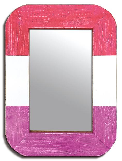 ミラー Surf Mirror Red(サーフ ミラー レッド)/インテリア 壁掛け 額入り 額装込 風景画 油絵 ポスター アート アートパネル リビング 玄関 プレゼント モダン アートフレーム おしゃれ 飾る LLサイズ