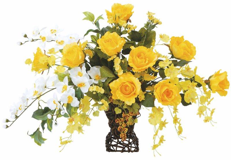 アートフラワー 造花 ツインゴールド/光触媒〔テーブルタイプ〕/光触媒 観葉植物 ウンベラータ フェイクグリーン 花 胡蝶蘭 開店祝い 開業祝い 誕生祝い 造花 アートフレーム おしゃれ 飾る 4Lサイズ 巣ごもり