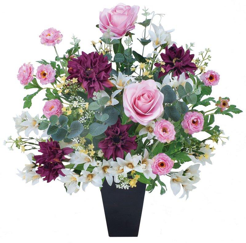 アートフラワー 造花 フレグランス〔テーブルタイプ〕/光触媒 観葉植物 ウンベラータ フェイクグリーン 花 胡蝶蘭 開店祝い 開業祝い 誕生祝い 造花 アートフレーム おしゃれ 飾る 3Lサイズ 巣ごもり