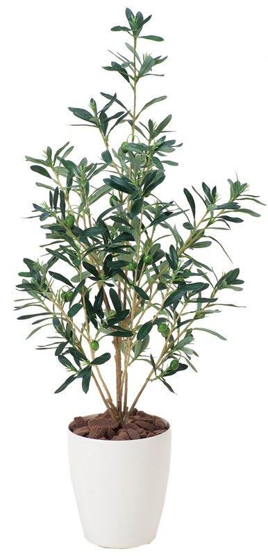 光触媒観葉植物 オリーブ90〔フロアタイプ(ミドルサイズ)〕/光触媒 観葉植物 ウンベラータ フェイクグリーン 花 胡蝶蘭 開店祝い 開業祝い 誕生祝い 造花 アートフレーム おしゃれ 飾る 5Lサイズ 巣ごもり