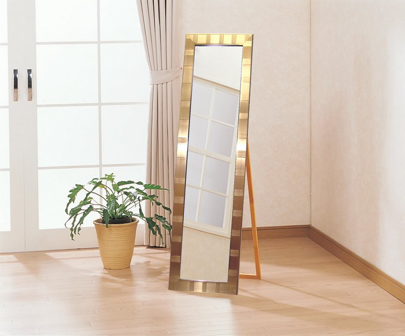 """Mirror"" HJ Miller (four Shaku feet) scattering prevention / painting / wall art is the Interior of the living room door and picks. Cute wall decoration is so me heals your room. Also at present. 02P12Oct15"