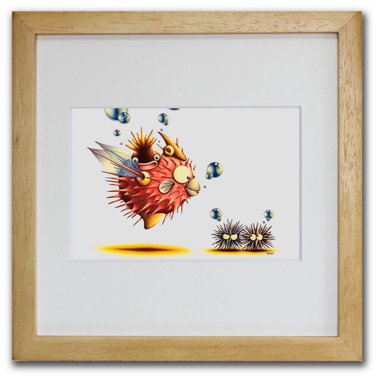 壁掛けアートは リビングや玄関におすすめのインテリア 絵画といえばルノワール ゴッホのひまわりといった名画が有名 人気 おすすめ かわいい壁飾りはお部屋を癒やしてくれそう プレゼントにも 色鉛筆画 版画 ゆうパケット 針棘遊魚 SHOji インテリア 壁掛け 額入り 額装込 国内即発送 Sサイズ 玄関 おしゃれ 油絵 アートフレーム 飾る モダン アートパネル 巣ごもり リビング プレゼント 風景画 ポスター アート