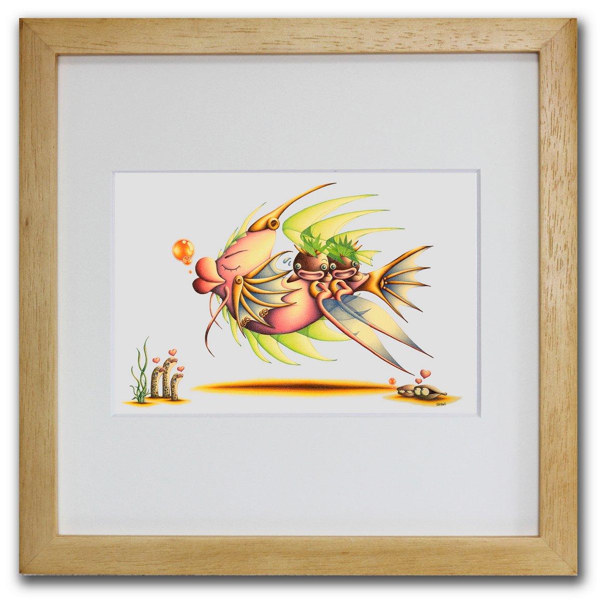 当店限定販売 壁掛けアートは リビングや玄関におすすめのインテリア 絵画といえばルノワール ゴッホのひまわりといった名画が有名 かわいい壁飾りはお部屋を癒やしてくれそう プレゼントにも 色鉛筆画 版画 ゆうパケット お洒落魚 SHOji インテリア 壁掛け 額入り 額装込 巣ごもり 玄関 油絵 おしゃれ 現品 リビング アートパネル モダン アートフレーム Sサイズ ポスター 風景画 飾る アート プレゼント