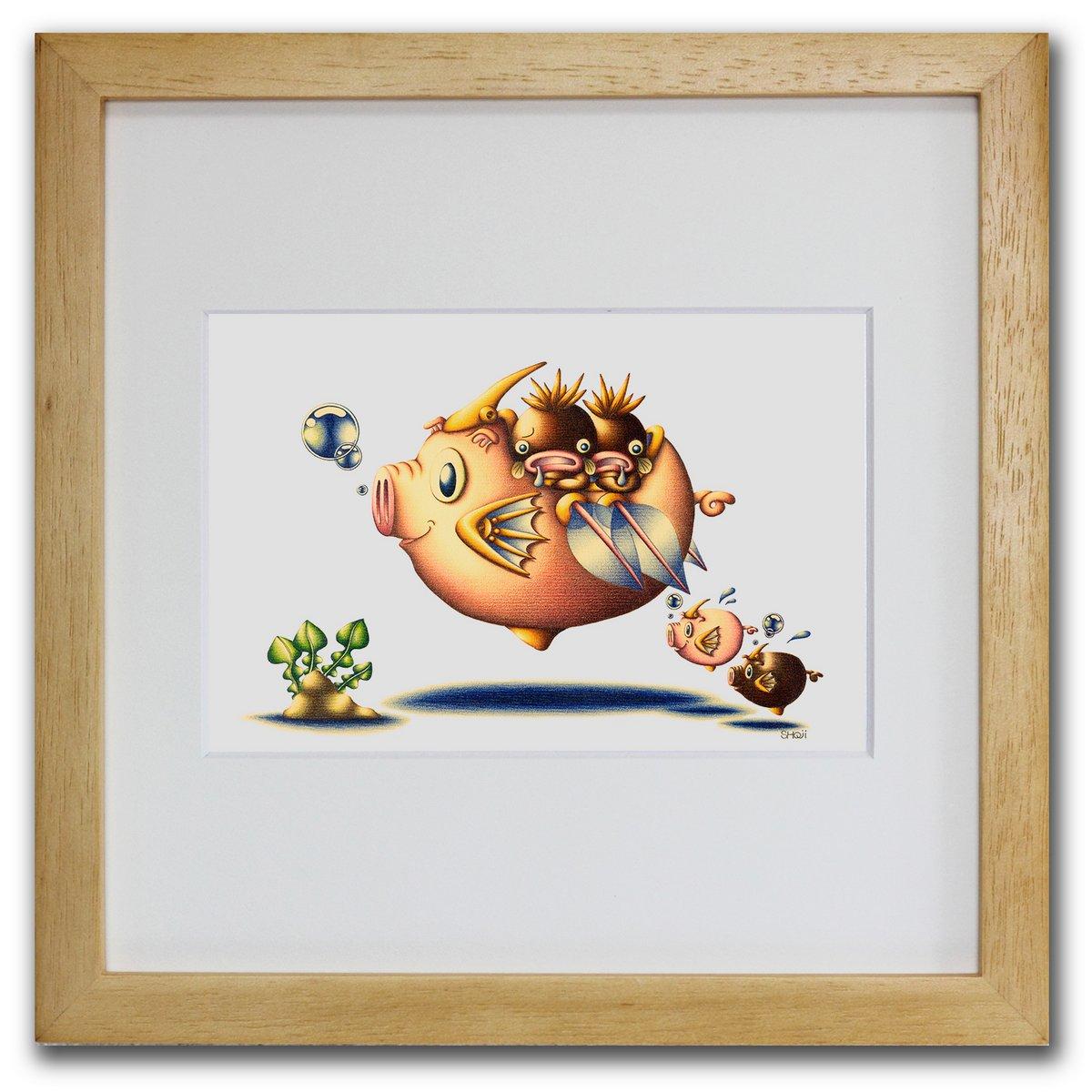 壁掛けアートは リビングや玄関におすすめのインテリア 絵画といえばルノワール ゴッホのひまわりといった名画が有名 かわいい壁飾りはお部屋を癒やしてくれそう プレゼントにも 色鉛筆画 版画 ゆうパケット 養豚魚 SHOji インテリア 壁掛け 額入り 額装込 リビング 玄関 油絵 ポスター モダン アート 感謝価格 プレゼント 巣ごもり 即日出荷 アートフレーム Sサイズ アートパネル おしゃれ 飾る 風景画