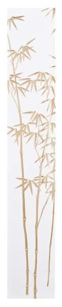 ウッド スカルプチャー アート バンブー (ホワイト)/インテリア 壁掛け 額入り 額装込 風景画 油絵 ポスター アート アートパネル リビング 玄関 プレゼント モダン アートフレーム おしゃれ 飾る 4Lサイズ 巣ごもり