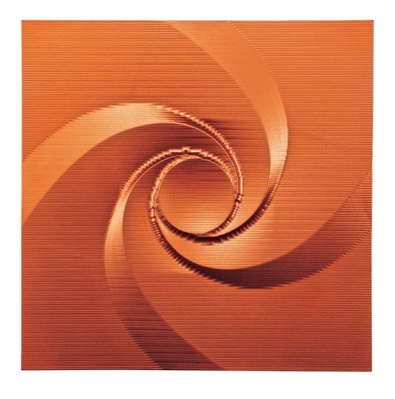 壁掛け プラデック ウォール アート エディ (メタルオレンジ)/インテリア 壁掛け 額入り 額装込 風景画 油絵 ポスター アート アートパネル リビング 玄関 プレゼント モダン アートフレーム おしゃれ 飾る 3Lサイズ