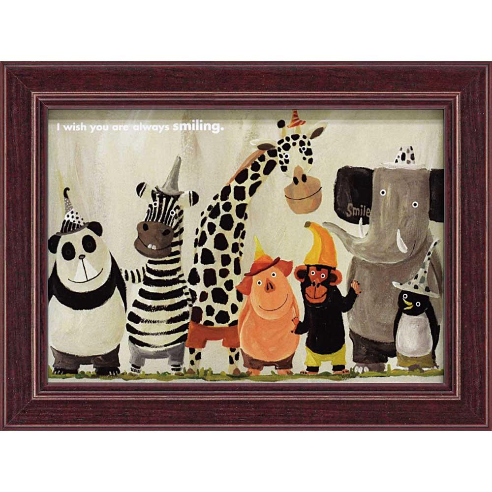 壁掛けアートは リビングや玄関におすすめのインテリア 絵画といえばルノワール ゴッホのひまわりといった名画が有名 かわいい壁飾りはお部屋を癒やしてくれそう プレゼントにも 絵画 お買い得 ゆうパケット 武内 祐人 動物たち インテリア 壁掛け 額入り 額装込 アートフレーム 輸入 巣ごもり アート リビング 飾る モダン 油絵 おしゃれ アートパネル Sサイズ ポスター 玄関 風景画 プレゼント