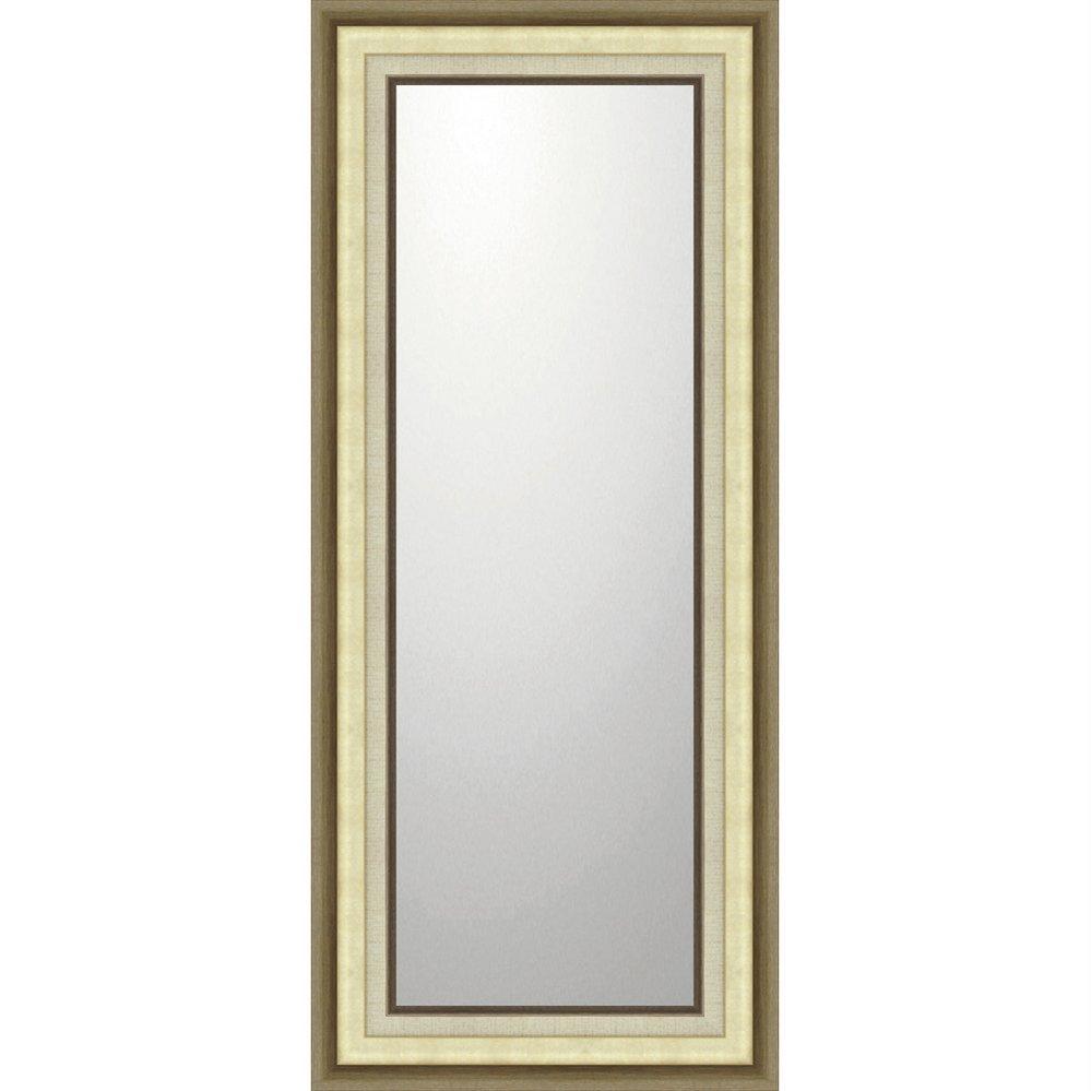 ミラー デコラティブ 大型ミラー モダン「ロング(ゴールド)」/鏡 壁掛け 卓上 手鏡 鏡台 収納 おしゃれ 飾る 美容 お化粧 顔 インテリア 新築祝い 改築祝い 4Lサイズ 巣ごもり