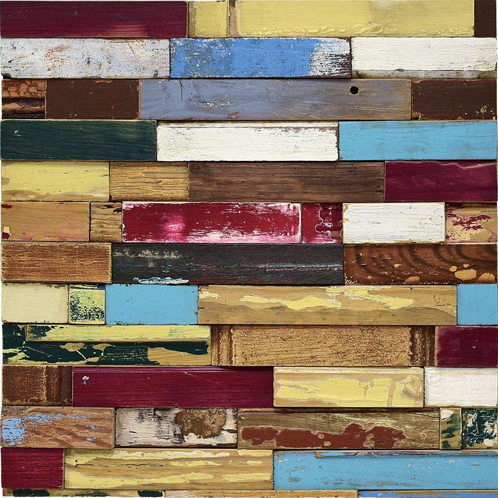 壁飾り プラデック ウッド クラフト「ロハス(Lサイズ)」/インテリア 壁掛け 額入り 額装込 風景画 油絵 ポスター アート アートパネル リビング 玄関 プレゼント モダン アートフレーム おしゃれ 飾る Lサイズ 巣ごもり
