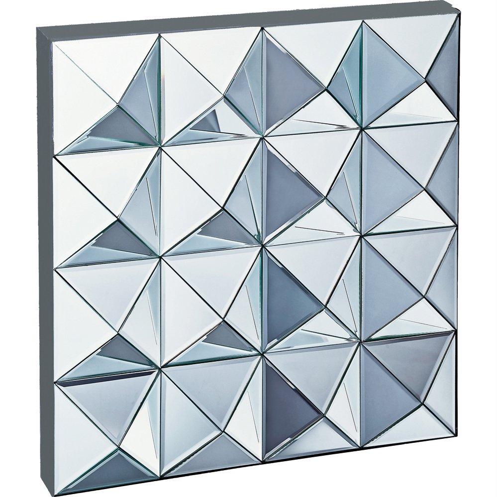 鏡 スペース ミラーアート「ピラミッド」/額入り 額装込 風景画 絵画 絵 壁掛け アート リビング 玄関 トイレ インテリア かわいい 壁飾り 癒やし プレゼント ギフト アートパネル ポスター 3Lサイズ
