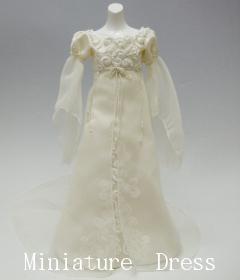 ミニチュアドレス:ウェディング