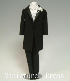 ミニチュアドレス:メンズフォーマル