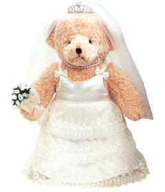 上等 思いのこもったウェイトドール 体重ベア:セレブレーションベア:フォーマル:ドレッシーティアード 結婚祝い