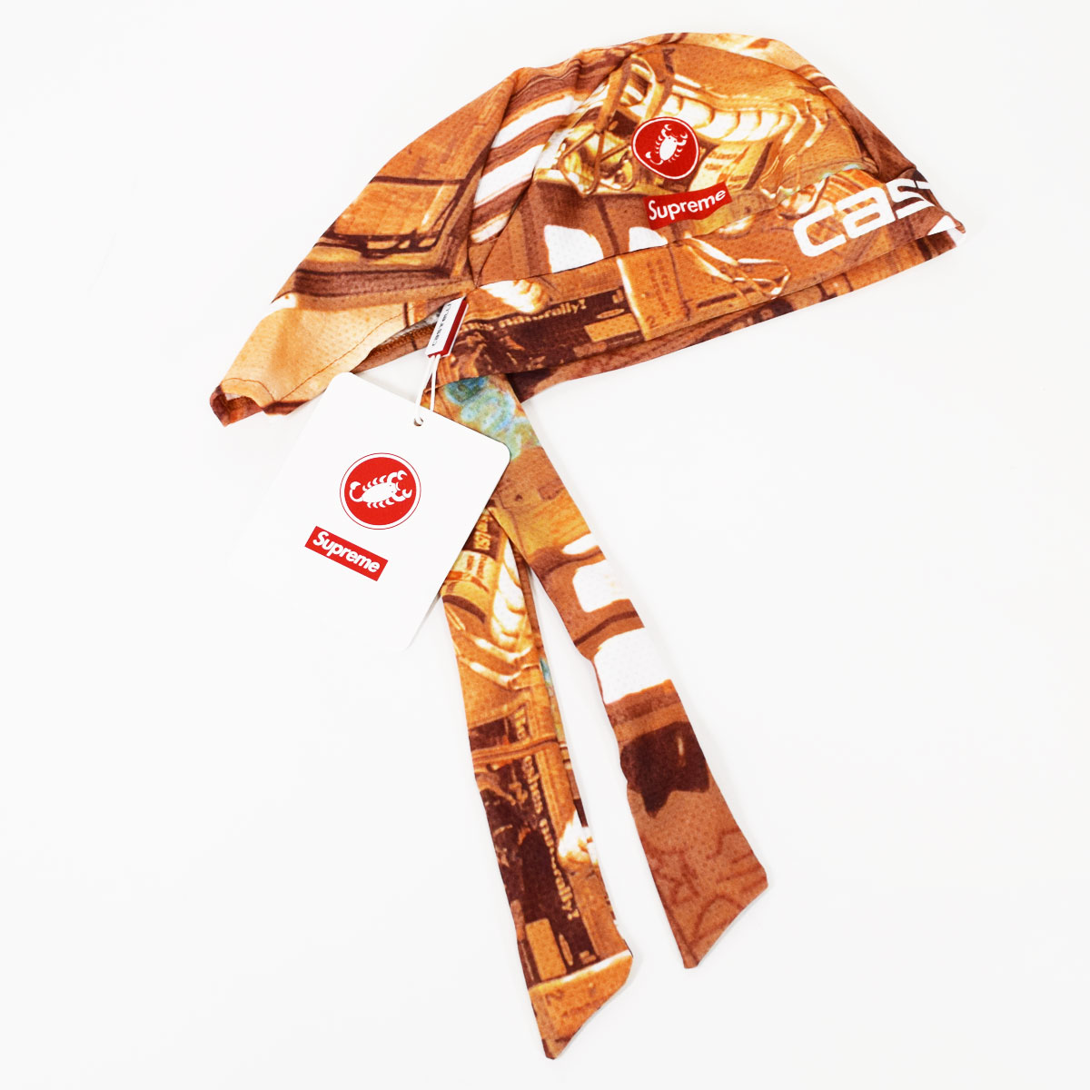 価格交渉 全商品 03-6435-2153☆送料無料 シュプリーム明細書 新品 2018SS Supreme シュプリーム SUBWAY Castelli Cycling Skull Cap カステリ メーカー公式ショップ 国内正規品 輸入 マルチカラー ポリエステル100% サイクリング Made スカル N Italy In ステッカー32420608 送料無料 キャップ A